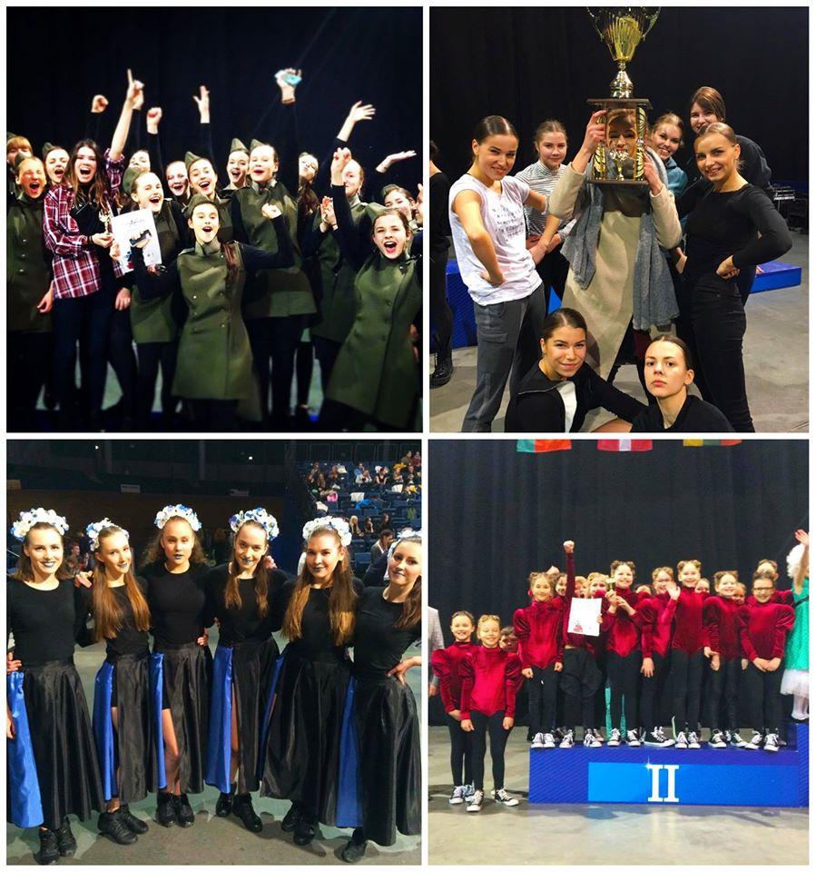 šok/šok net 5 laimėjimai EURODANCES 2016 čempionate!
